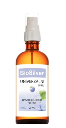 Biosilver koloidno srebro univerzalni sprej