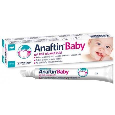 Anaftin Baby gel kod nicanja zubi